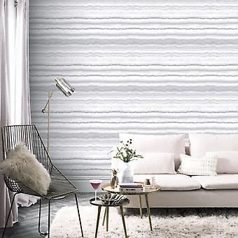 Arthouse Mineral White & Silver Glittery Vinyl Wallpaper