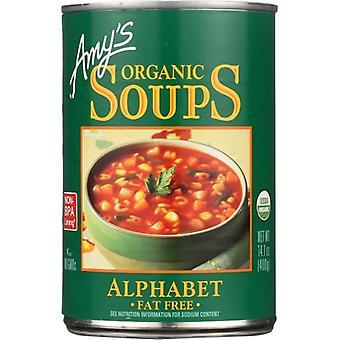 Amys Soup Alphabet, Case of 12 X 14.1 Oz