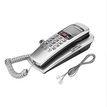 FSK / DTMF Volající ID Telefon Kabelovaný telefon Velký knoflík Stůl Dát pevné linky Módní prodloužení Telefon