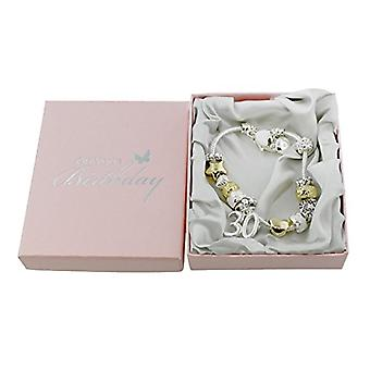 Birthdays by Juliana 30th Birthday Charm Bracelet