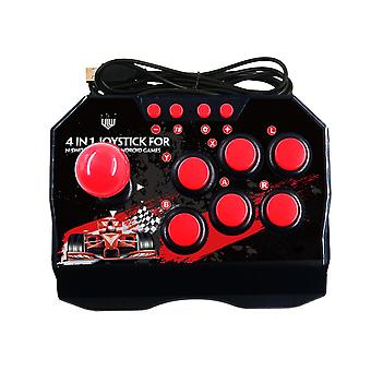 4-In-1 joystick usb wired game retro arcade station turbo games console rocker fighting controller for ps3/switch/pc/android tv