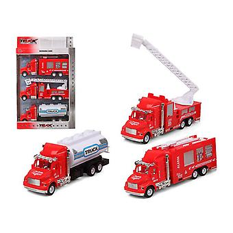 Autosarja Paloauto Red 119312 (3 Uds)