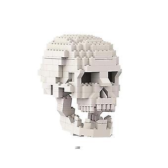 Skeleton Building Malli DIY Assembly Lelu Koulutuskoulu Rohkeille lapsille Lasten Lahja  Lohkot(valkoinen)
