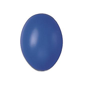 50 Blue Hollow One Piece 60mm plastic paaseieren