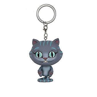 Alice In Wonderland Cheshire Cat Sleutelhanger Sleutelhanger Hanger Accessoires Chessur Sleutelhanger Sleutelhanger
