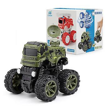 Inerciálny terénne vozidlo s pohonom všetkých štyroch kolies pre detské hračky
