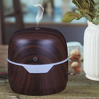 Difusor de aire eléctrico 300ml Humidificador de aceite de aroma Luz nocturna Defuser relajante para dormitorios