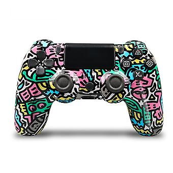 Wireless PS4 Controller Bluetooth Gamepad For PlayStation 4 Pro/Slim/PC/Android/IOS/Steam/DualShock 4 Game Joystick Graffiti 4