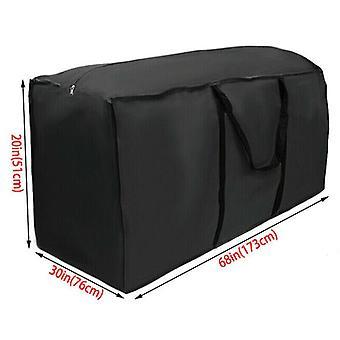 (173x76x51cm) Outdoor Waterproof Garden Cushion Cover Bag