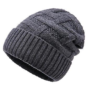 Utomhus ull varm hatt och öronskydd hatt