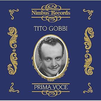 Tito Gobbi - Prima Voce: Tito Gobbi [CD] USA import