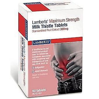 Lamberts Maximum Strength Milk Thistle 300mg 30Tablets