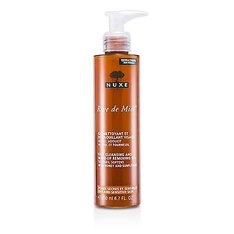 Nuxe Reve De Miel Face Cleansing & Makeup Removing - 200ml/6.7oz