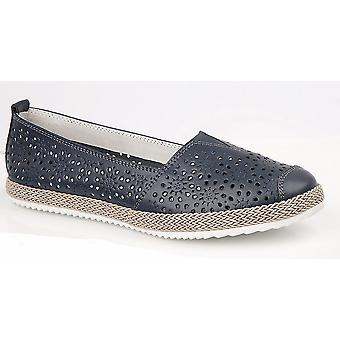 Boulevard Womens/Ladies Action Leather Shoes