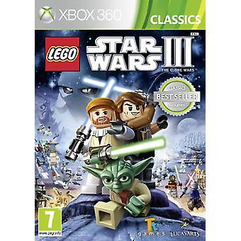 LEGO Star Wars III Clone Wars (Xbox 360)-fabriek verzegeld