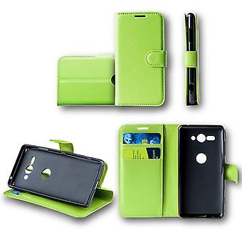 Samsung Galaxy A6 pluss A605 2018 Pocket lommebok premium grønne Schutz ermet coveret pose nytt tilbehør