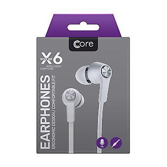 Core - X6 Earphones - White