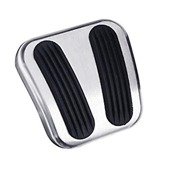 Lokar BAG-6163 Billet Curved Electronic Brake Pedal Pad with Rubber for Chevrolet Chevelle