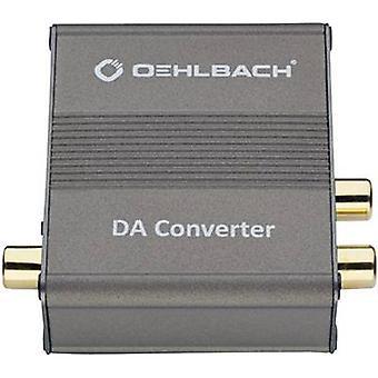 Oehlbach Audio/phono Converter DA Converter [Toslink, Digital RCA - RCA]
