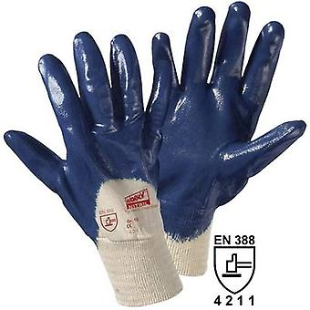 L+D worky Cross Nitril 1450C Cotton, Nitrile butadiene rubber Protective glove EN 388:2016 CAT II 1 pc(s)