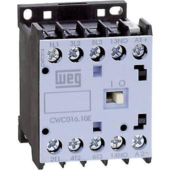 WEG CWC016-01-30D24 contactor 3 beslutsfattare 7,5 kW 230 V AC 16 A + extra kontakt 1 st. (s)