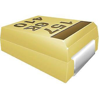 Kemet T491B106K016ZT Capacitor de tantalio SMD 10 oF 16 V 10 % 1 pc(s) Corte de cinta