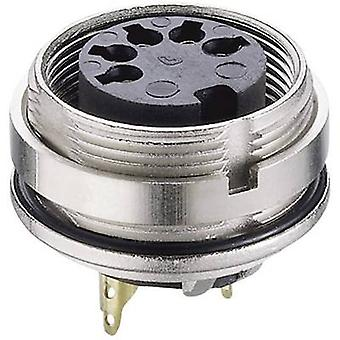 Lumberg 0305 05-1 DIN connector Socket, vertical vertical Number of pins: 5 Silver 1 pc(s)