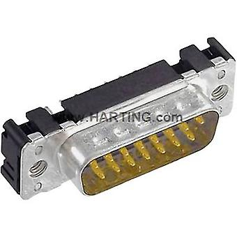 Harting 09 65 361 6712-tira de pin SUB 180 ° número de pernos: 25 PC 1 de soldadura