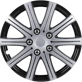 cartrend Adelaide Wheel trims R15 Grey metallic, Black (metallic) 4 pc(s)