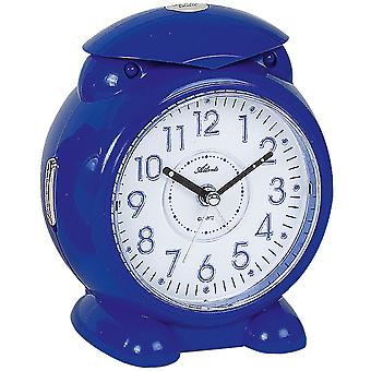 Atlanta 1985/5 alarm clock for children quartz analog kids alarm clock blue light