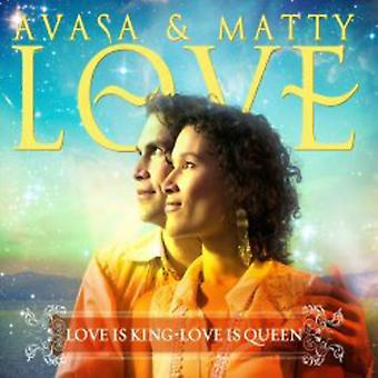 Avasa & Matty Love - Love Is King Love Is Queen [CD] USA import
