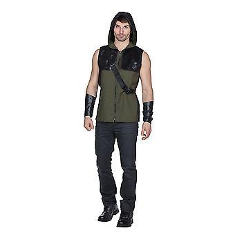 Archer Rangers skarpskytter Hunter kostyme for menn