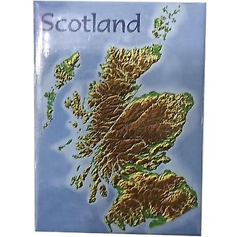 Scotland Map Magnet by Lyrical Scotland
