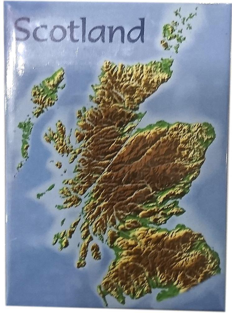 Scotland Map Magnet by Lyrical Scotland