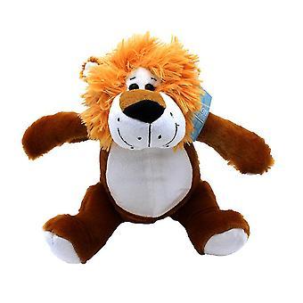 "9"" Plush Jungle Animal, Lion"