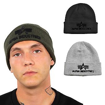 Alpha Industries Unisex Beanie 3D