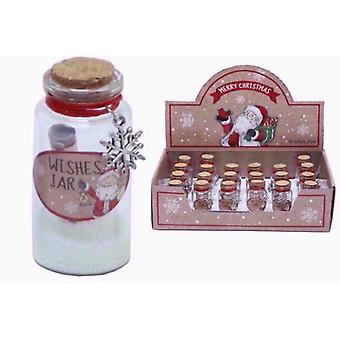 Navidad feliz Navidad pequeño Jar - suministrado