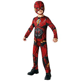 Flash Justice League classic child costume Carnival Super Hero