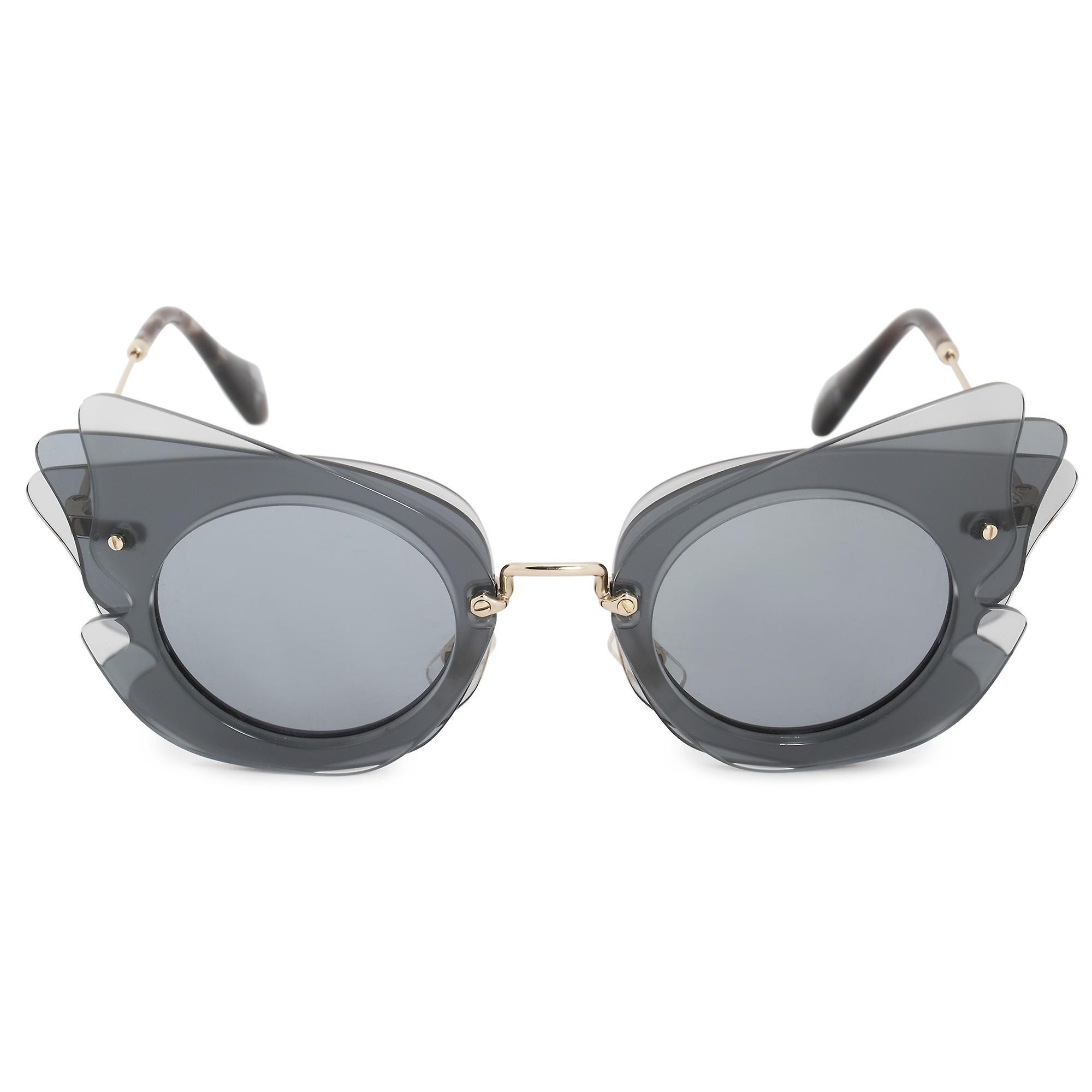 Miu Miu Butterfly Sunglasses SMU02SS VA43C2 63