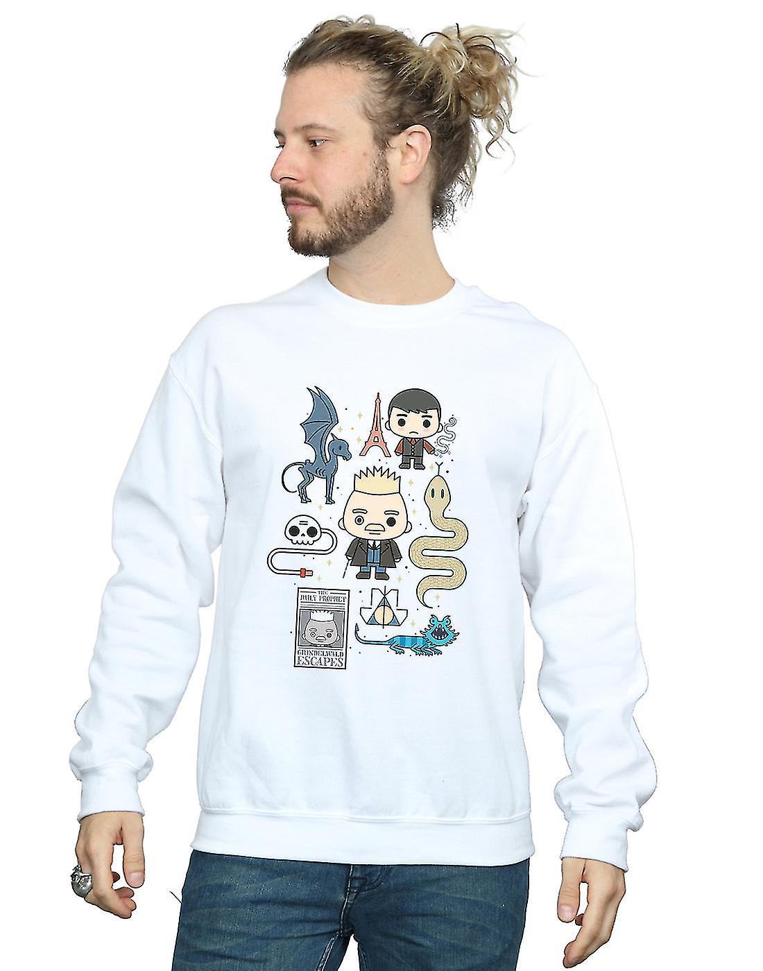 Fantastic Beasts Men's Chibi Grindelwald Sweatshirt