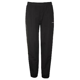 LA Gear Womens Ladies Hem Woven Pants Elasticated Waistband Trousers Bottoms