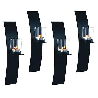 Lampett/Wall lanterne Bow Candle Holder 4-pack