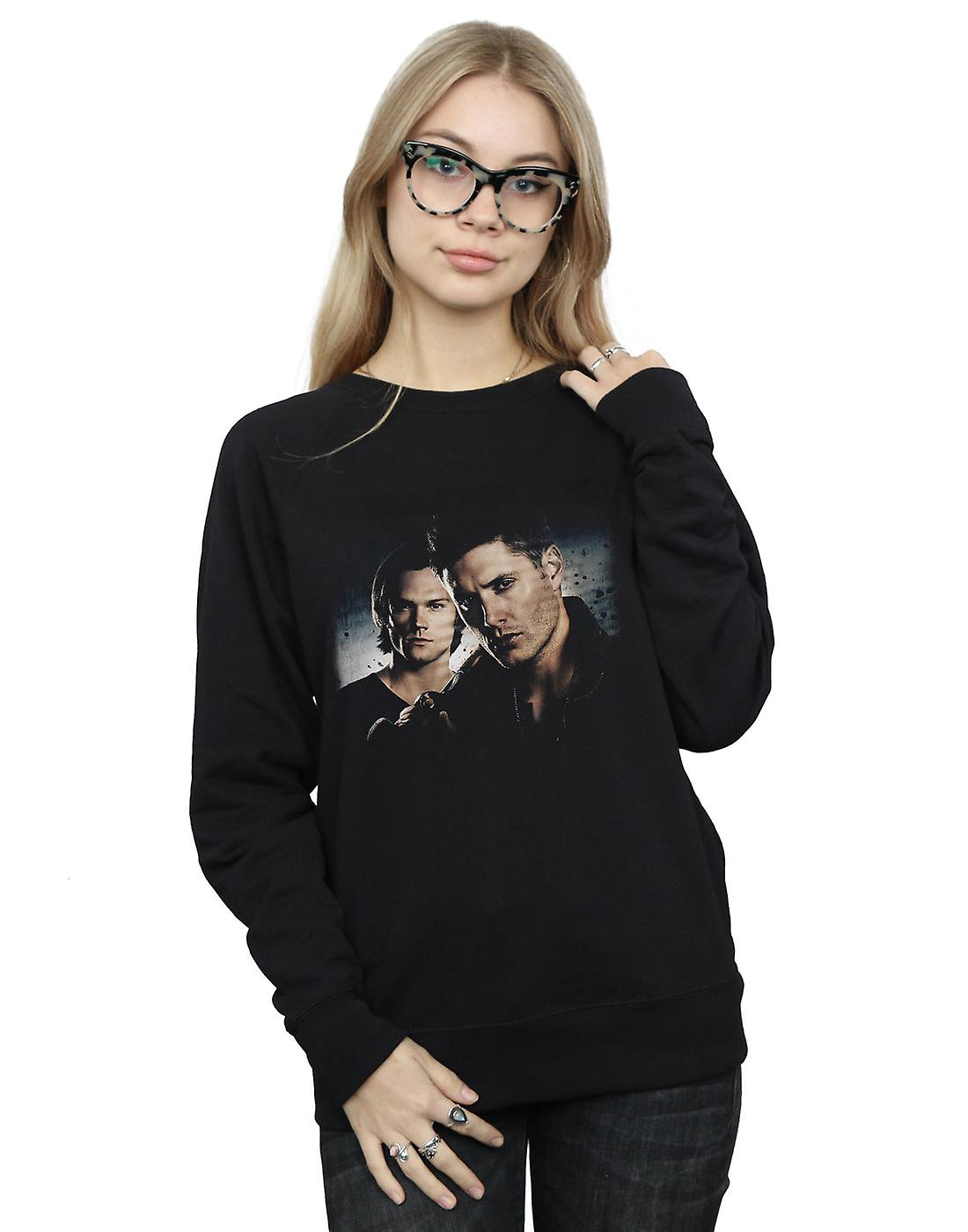 Supernatural Women's Sam And Dean Poster Sweatshirt