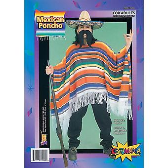 Meksykański Poncho. Opakowane.