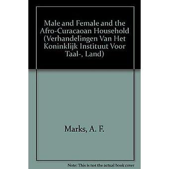 男性と女性と a. f. マーク - アフロ Curacaoan 世帯
