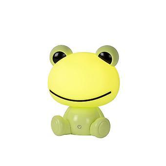 Lámpara de mesa de Dodo Lucide rana clásica verde Abs