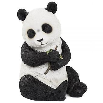 20Cm Sitting Panda Figurine Ornament Home Decoration