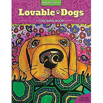 Adorables chiens Coloring Book