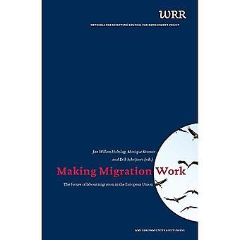 Maken migratie werk: De toekomst van arbeidsmigratie in de Europese Unie (WRR Publicatie)