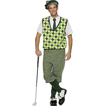 Old Fashion Golfer Adult Costume